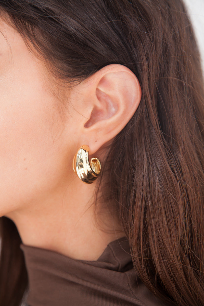 Ella Earrings - Gold Plated