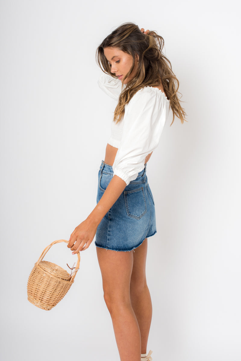 Elsa Skirt - Denim