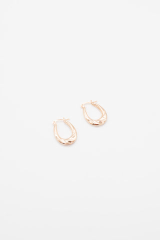 Clam Earrings - 14K Gold Plated