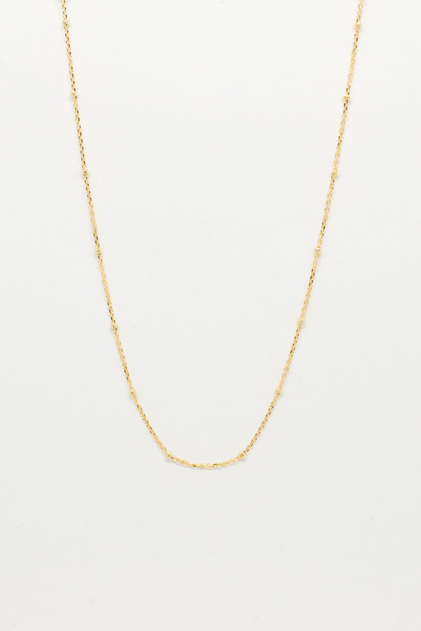 Fine Ball & Chain Choker - Gold - Style Addict