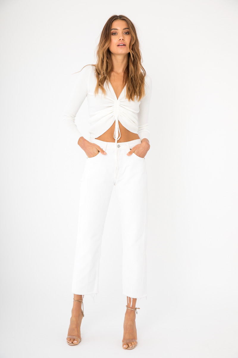 Haley Top - White