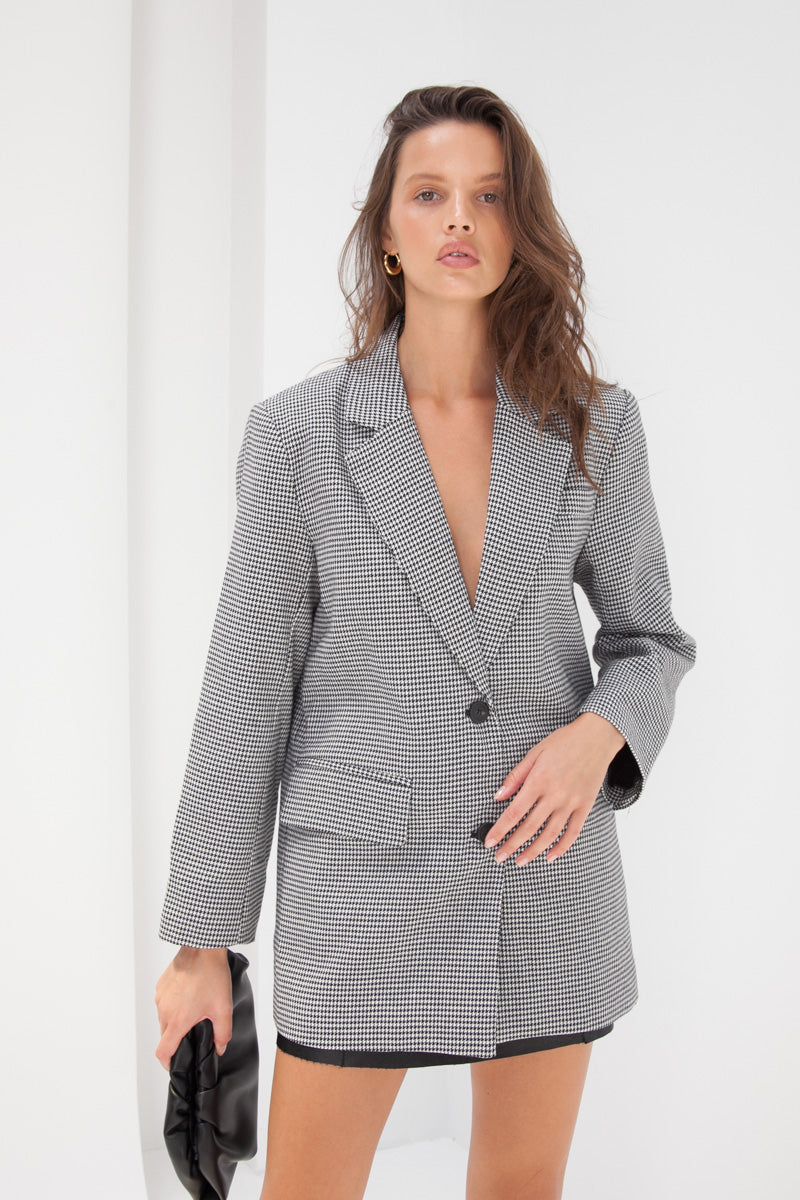 Jacques Blazer - Houndstooth