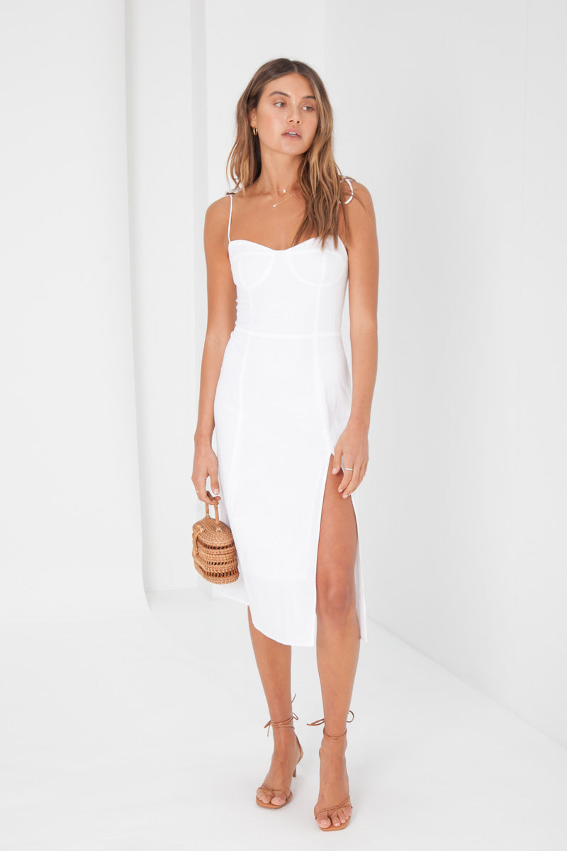 Jennifer Dress - White