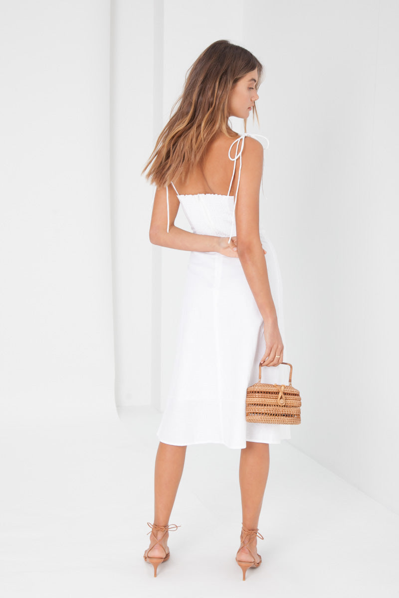 Jennifer Dress - Linen