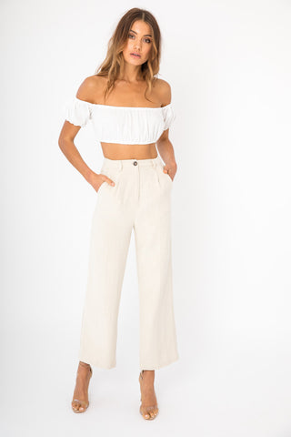 Belle Top - White