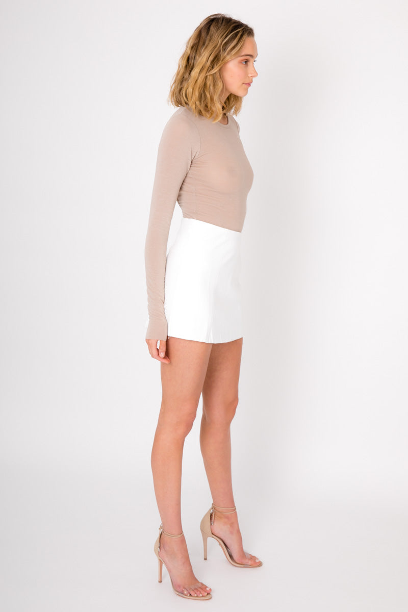 Kaia Skirt - White