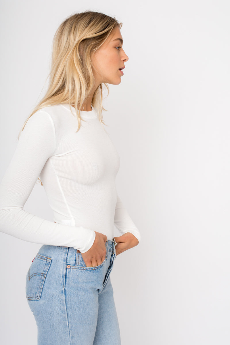 Kate Bodysuit - White