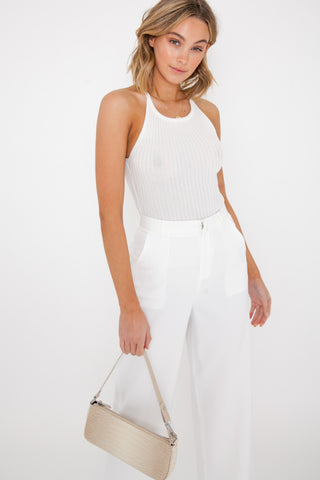 Georgia Bodysuit - White
