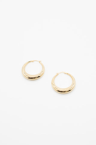 Mini Rope Earrings - 14K Gold Plated