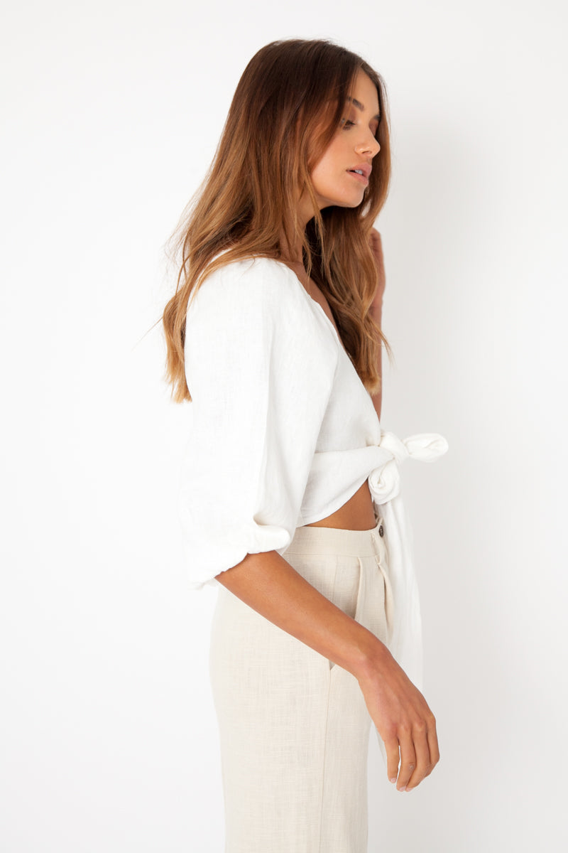 Leah Top - White