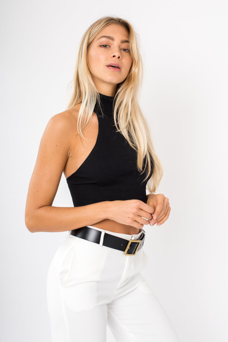 Lee Crop - Black