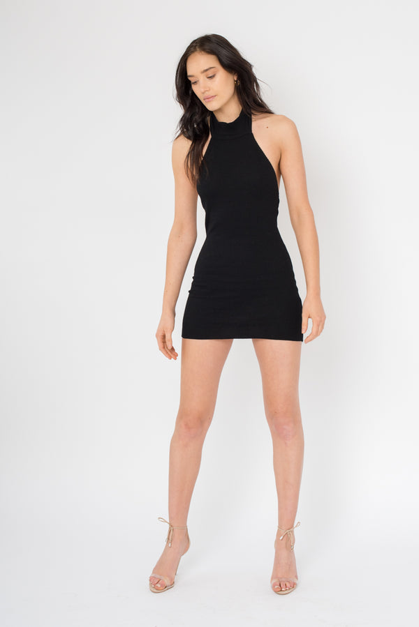 PRE ORDER Lee Dress - Black - Style Addict