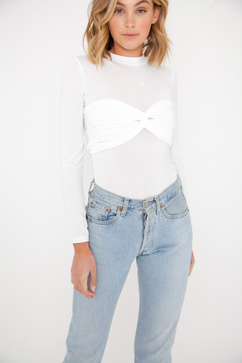 Lila Top - White
