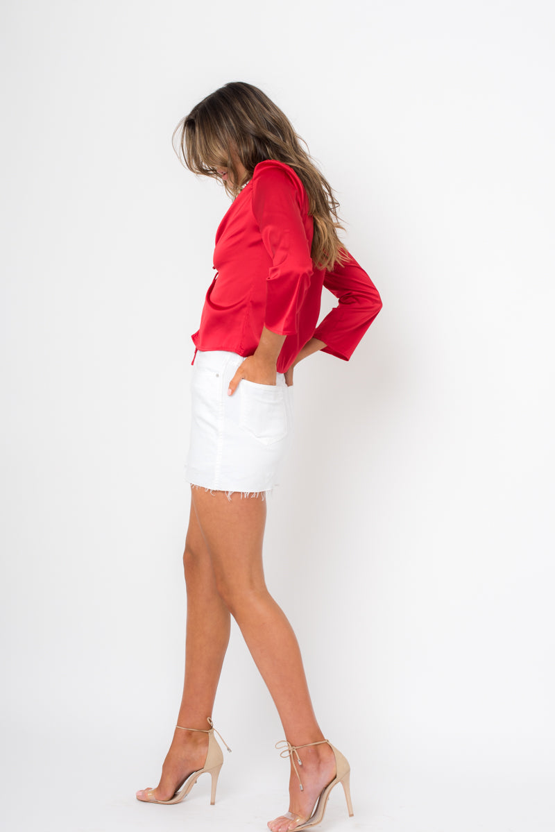 Lilah Top - Red
