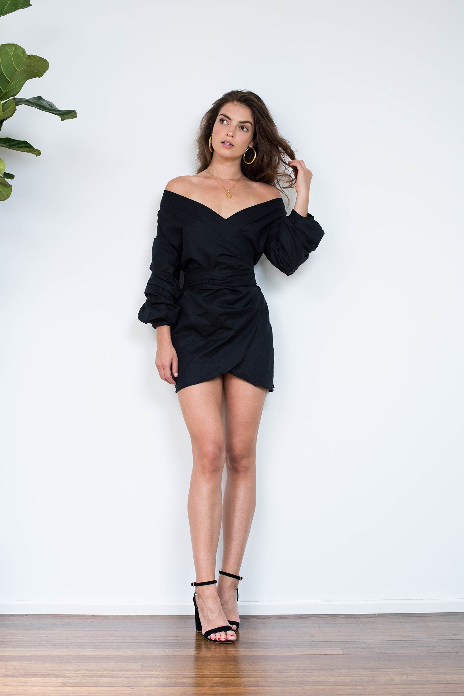 Lina Dress - Black