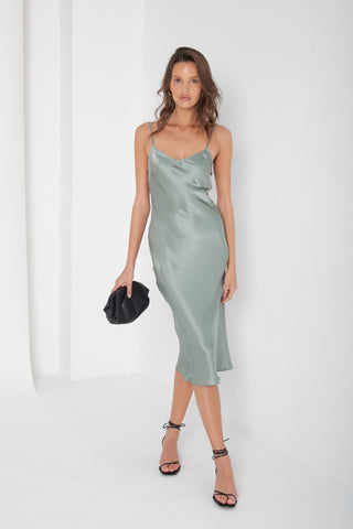 Dana Dress - Emerald