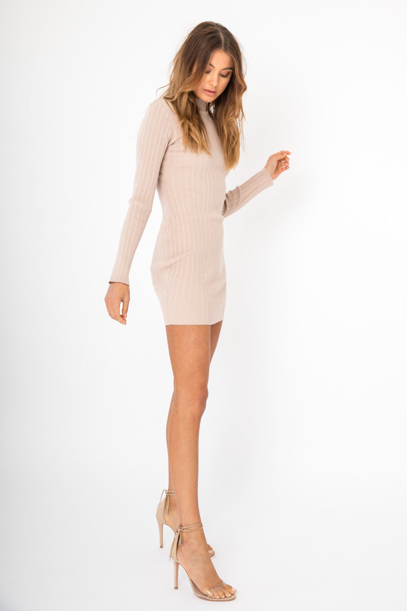 Lou Lou Dress - Nude