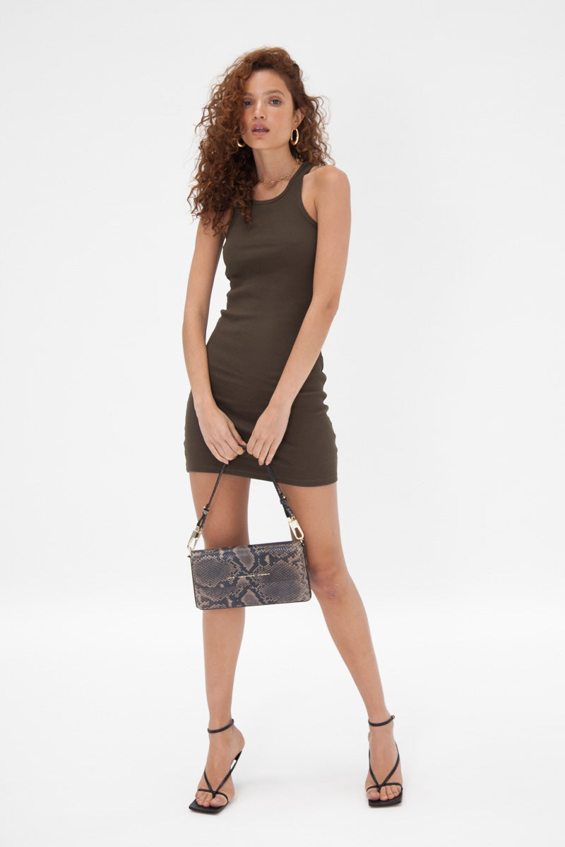 Lou Dress - Khaki