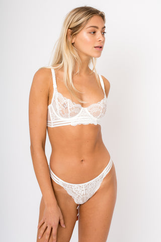 First Love Bra - White