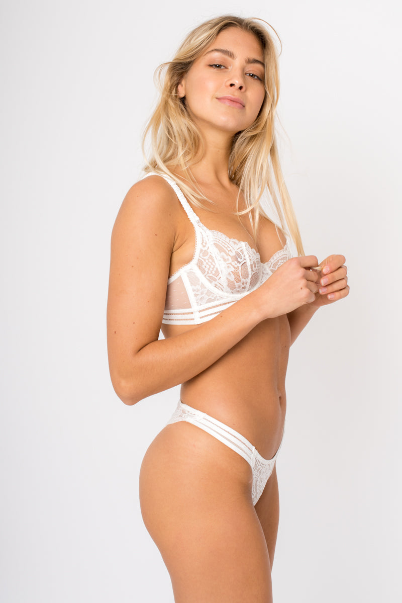 Louise Bra - White