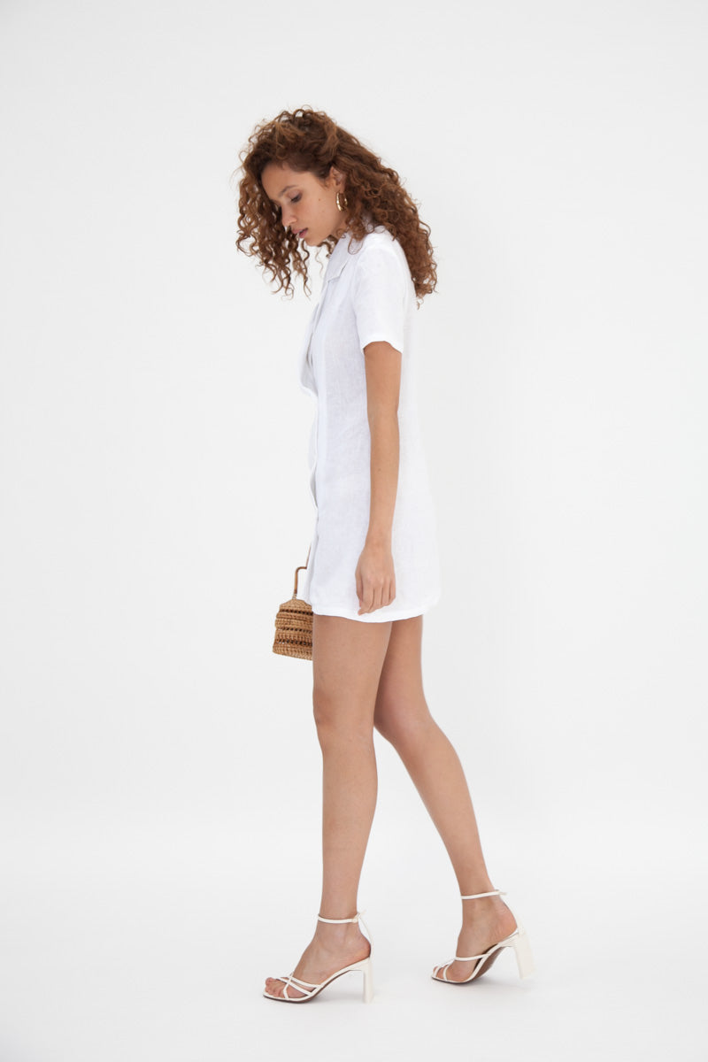 Lucy Dress - White