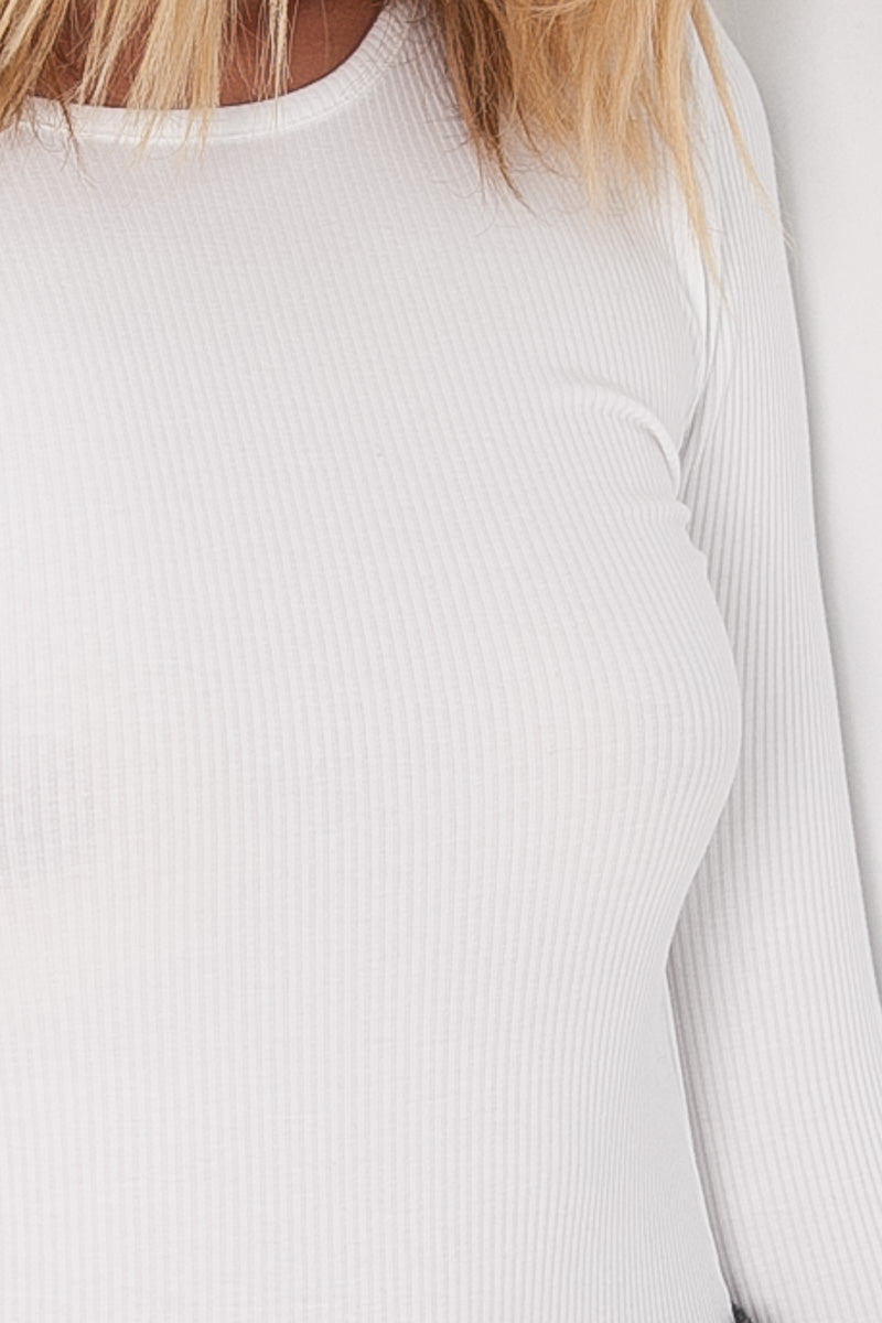 October Bodysuit - White