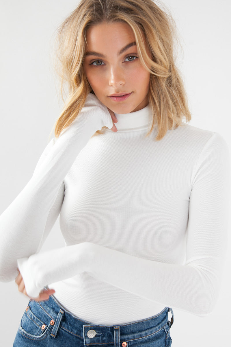 Pepa Bodysuit - White