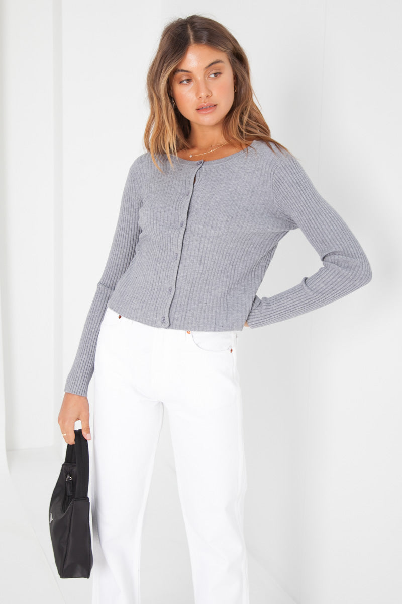 Ruby Cardigan - Grey