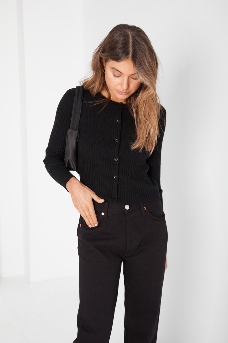 Ruby Cardigan - Black