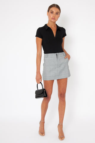 Presley Skirt - Grey