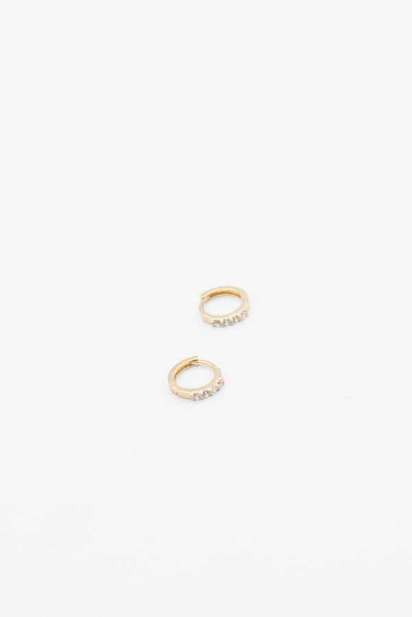 Mini Gold Sleepers - 14K Gold Plated