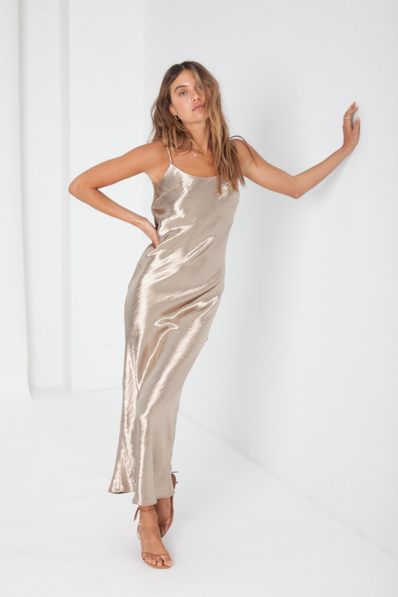 Lexi Dress - Gold