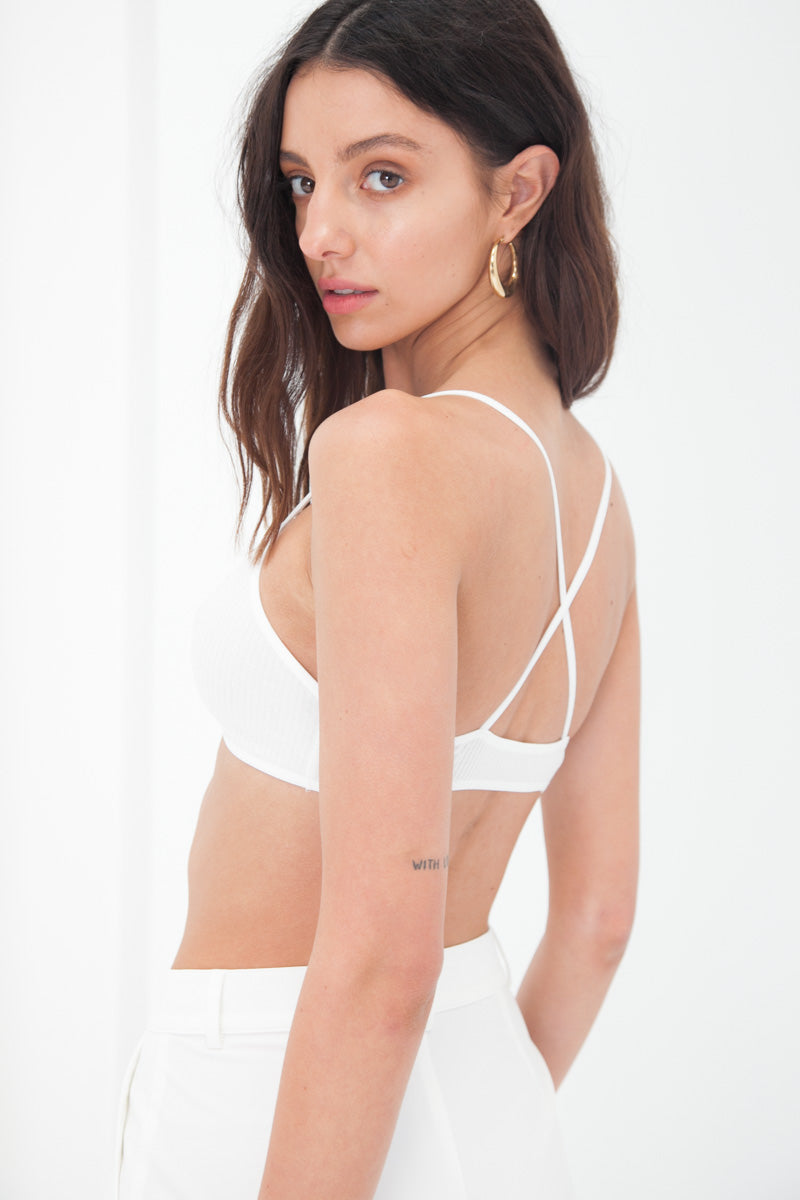 T-Shirt Bra - White