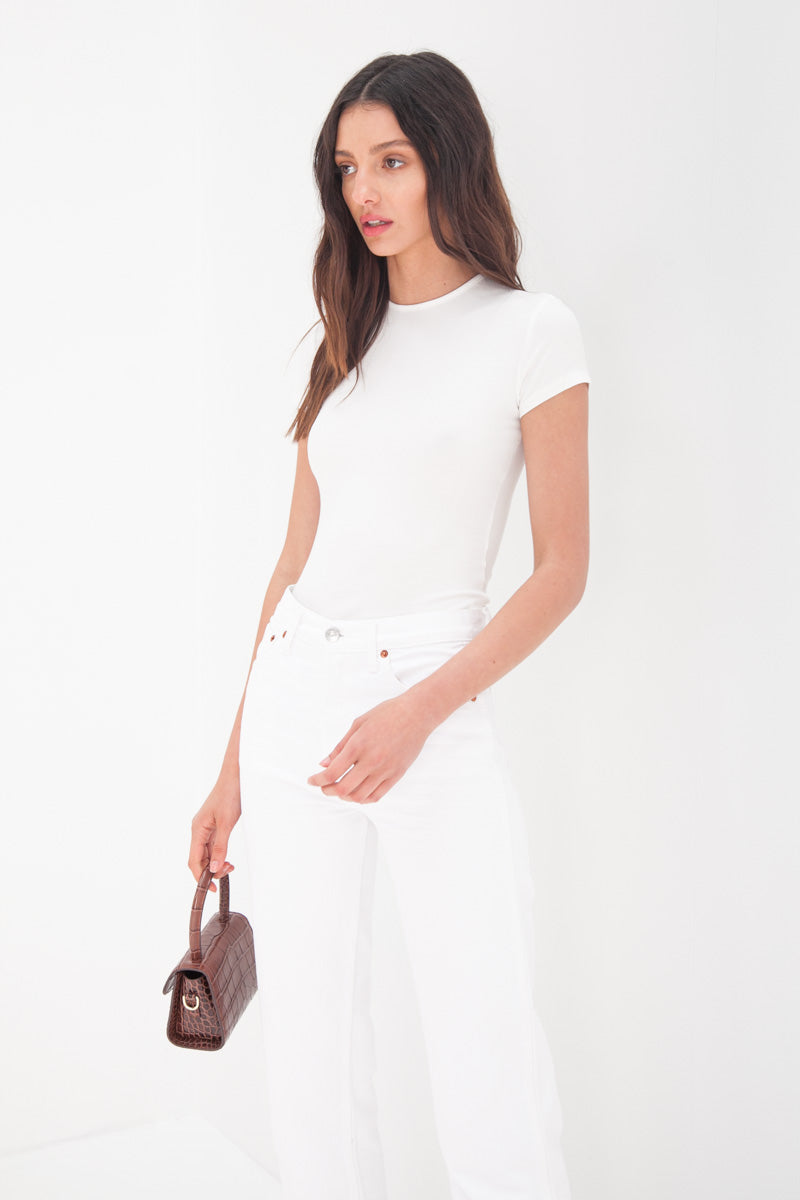 Tee Bodysuit - White