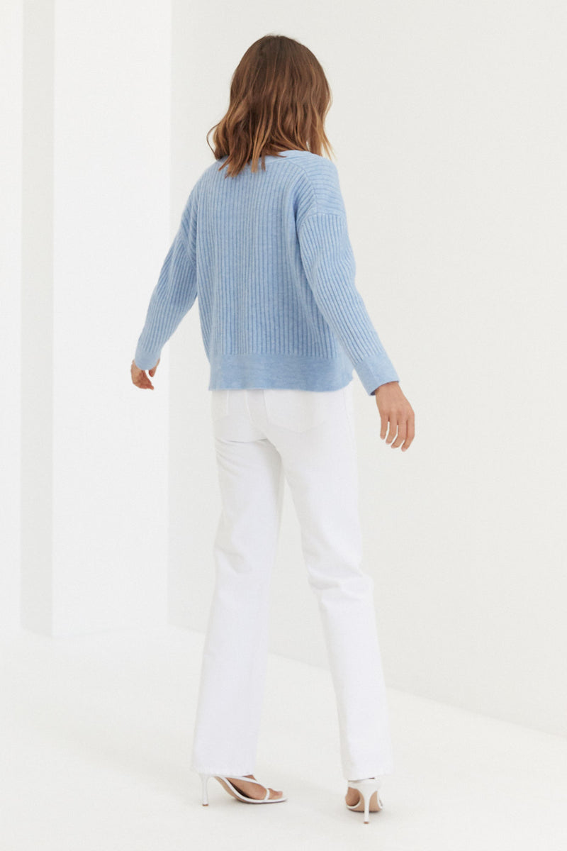Nikki Cardigan - Blue
