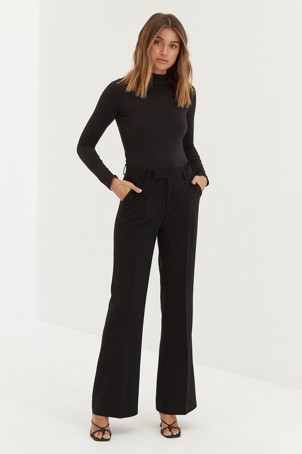 Donna Trouser Pants - Black
