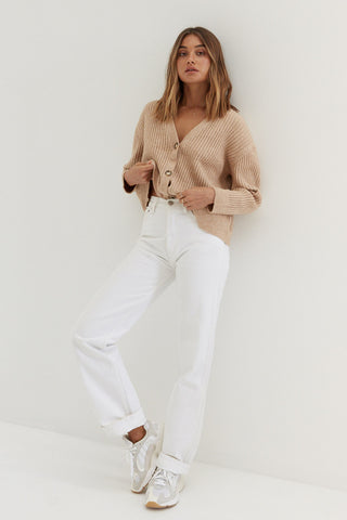 Donna Trouser Pants - White