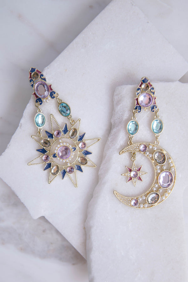 Night Star Earrings - Style Addict