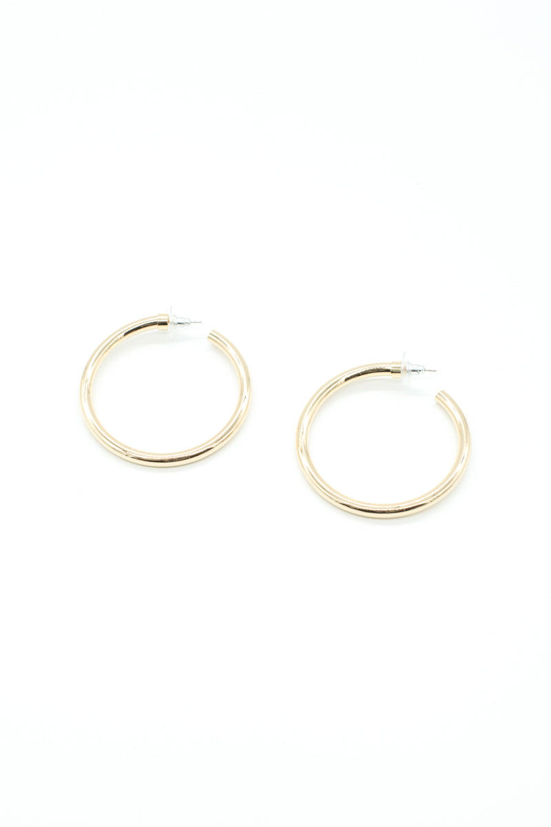 Nicole Earrings - Gold - Style Addict