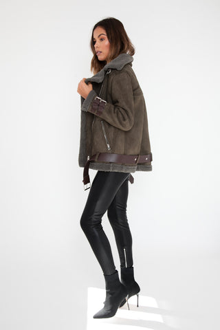 Kiko Jacket - Faux Leather
