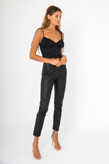Belle Top - Black