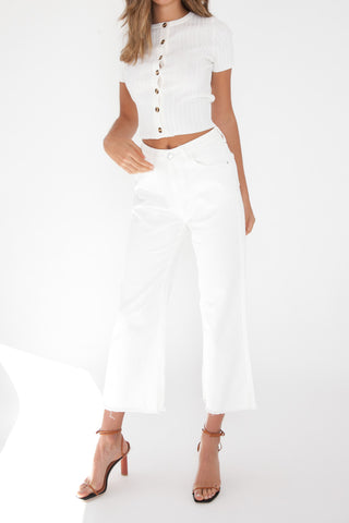Piper Top - White