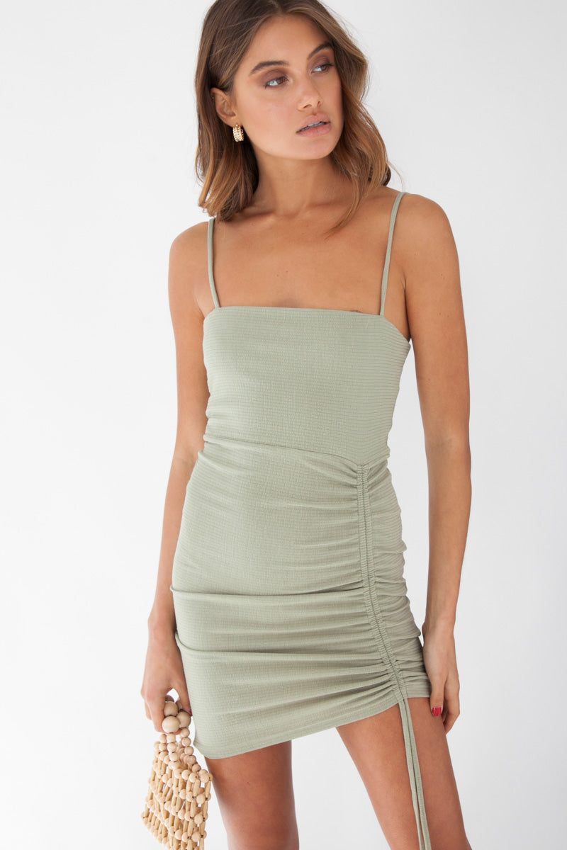Coco Dress - Olive