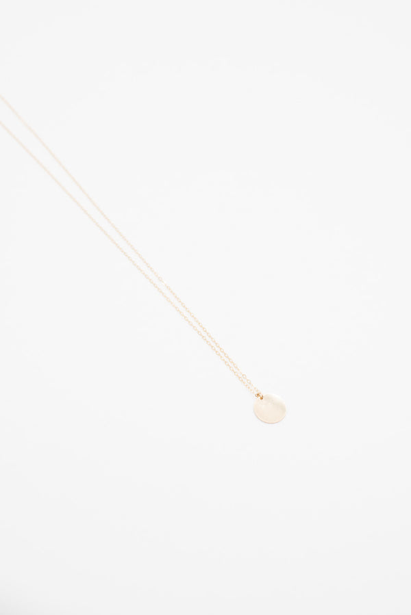 Infinite Circle Chain Necklace - 14K Gold