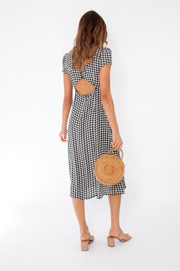 Larissa Dress - Gingham