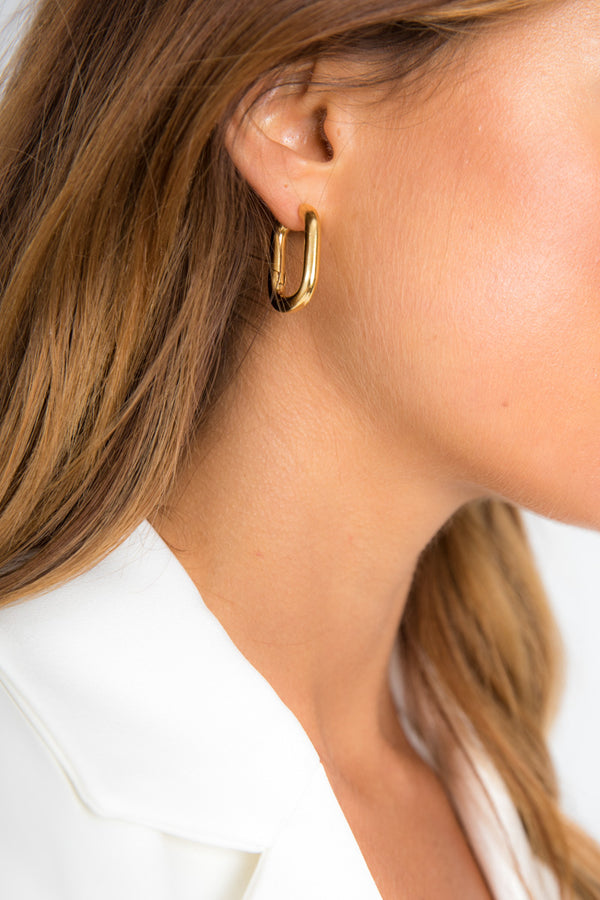 Leah Earrings - 14K Gold Plated