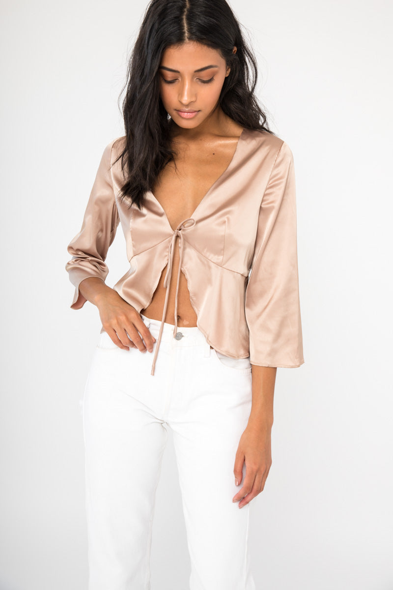 Lilah Top - Gold