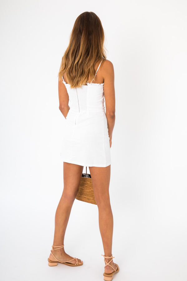 Tropez Dress - White