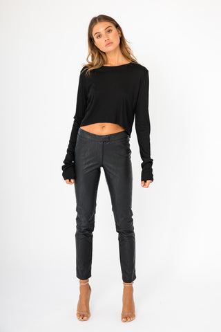 Shirt Bodysuit - Black