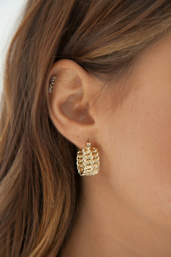Lucette Earrings - Gold Plated